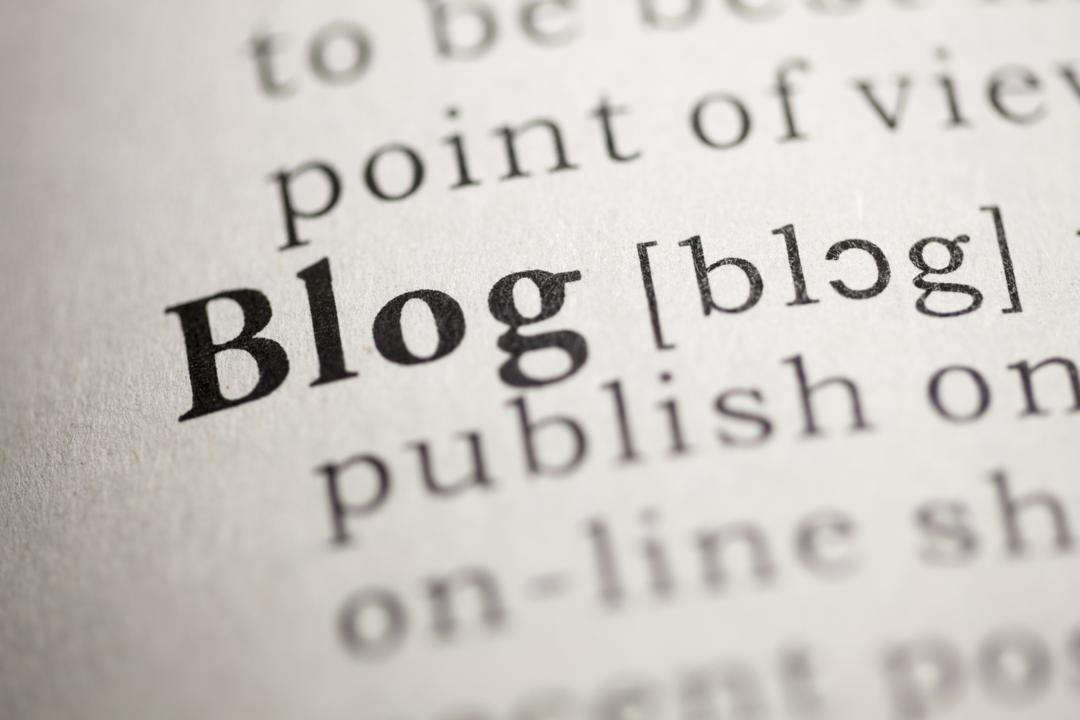 Journaling and Blogging