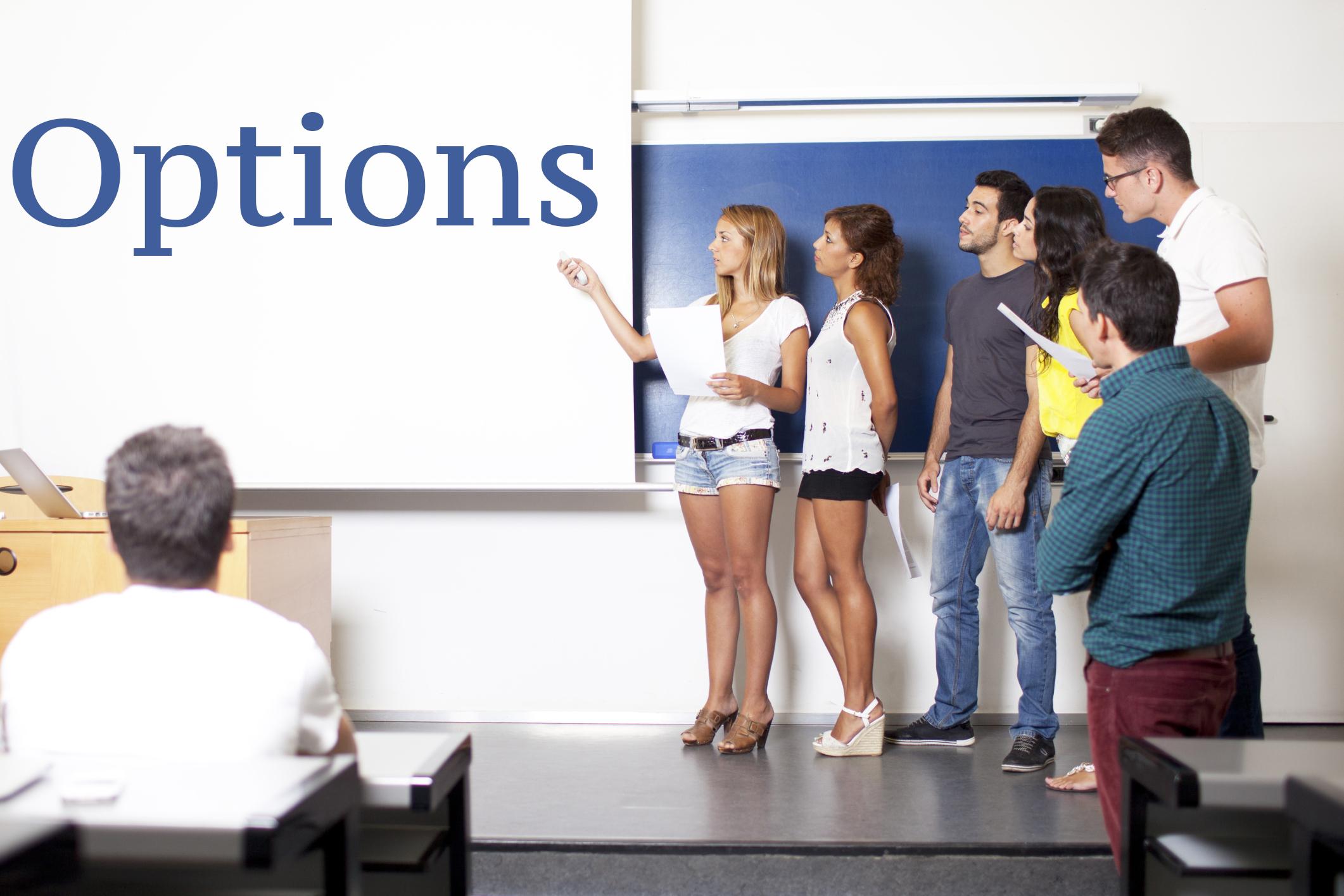 Presentation Options